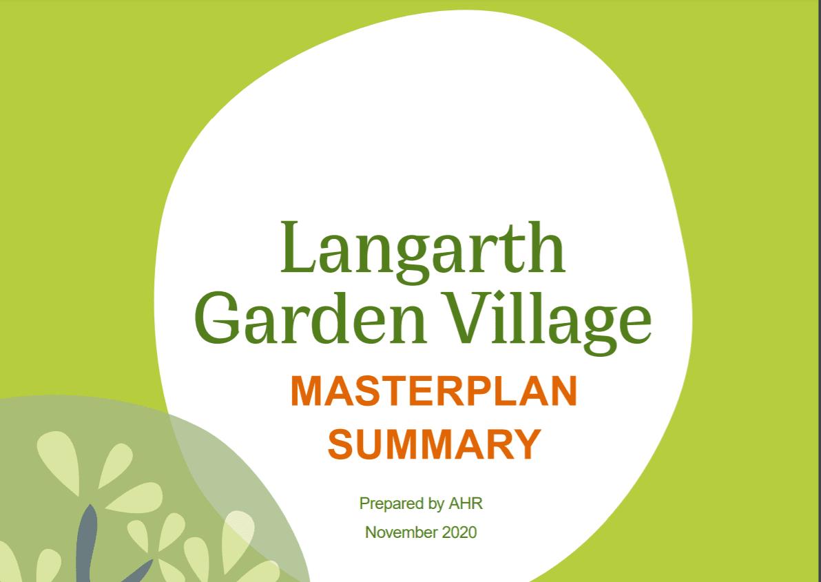 Finalising our masterplan
