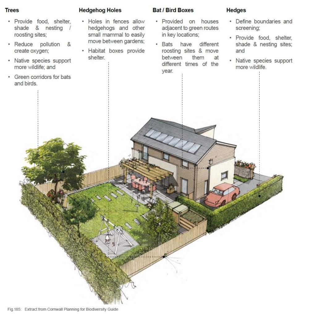 CC Biodiversity 3D House with annotations