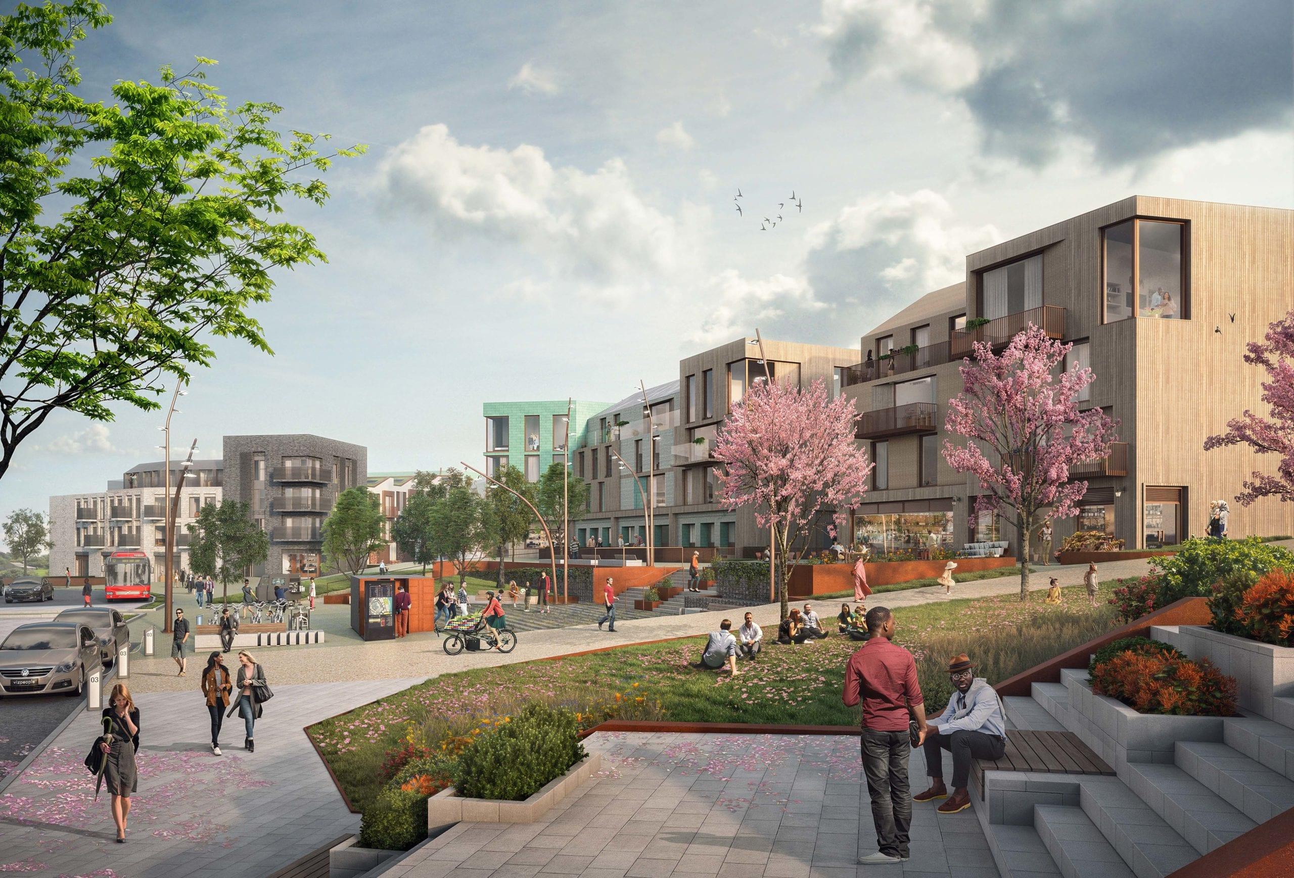 Managing community assets - Langarth Garden Village