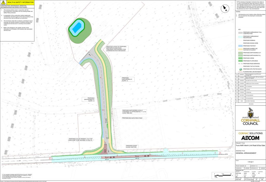 Work due to start on new interim link road 03