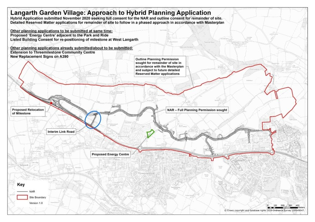 approach to hybrid planning application