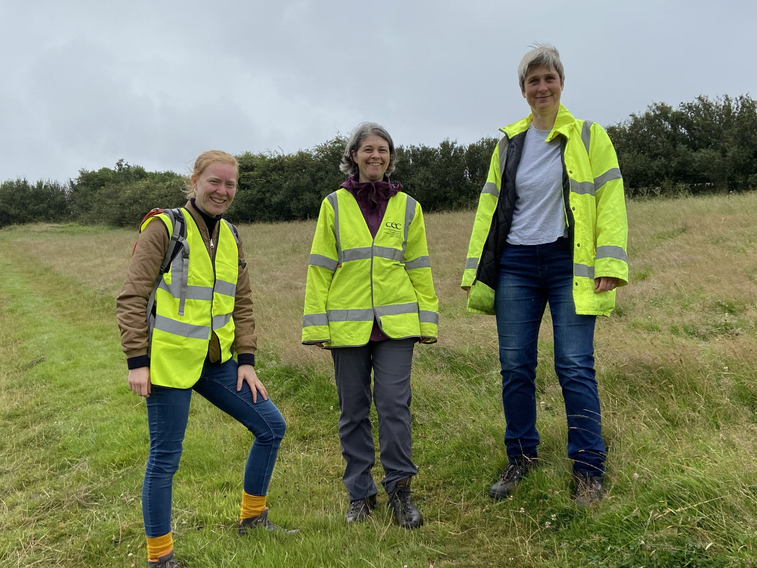 Building with Nature Director visits Langarth Garden Village