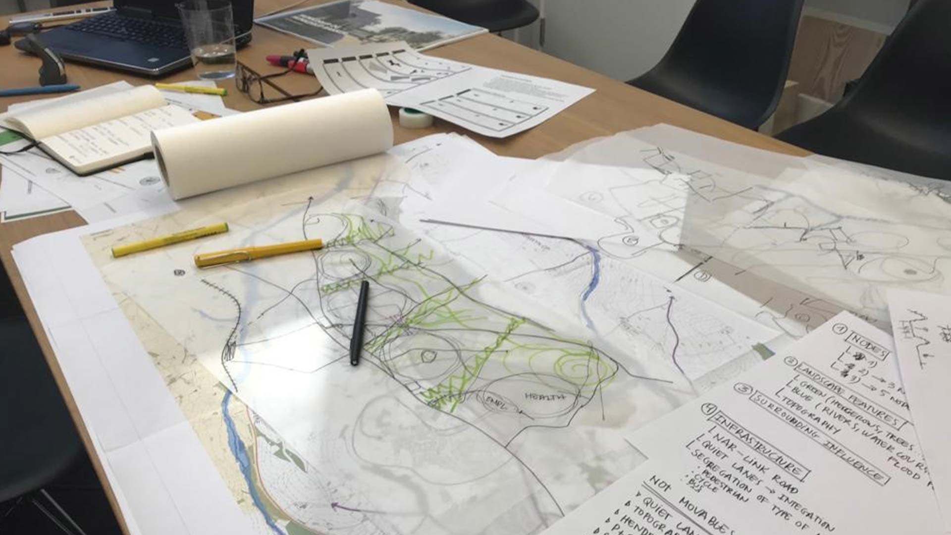 Place making with local communities at Langarth